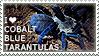 I love Cobalt Blue Tarantulas by WishmasterAlchemist