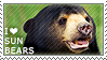 I love Sun Bears by WishmasterAlchemist