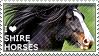 I love Shire Horses by WishmasterAlchemist