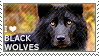 I love Black Wolves by WishmasterAlchemist