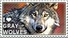 I love Gray Wolves by WishmasterAlchemist