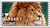 I love Barbary Lions by WishmasterAlchemist