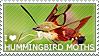 I love Hummingbird Moths by WishmasterAlchemist