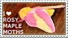 I love Rosy Maple Moths