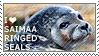 I love Saimaa Ringed Seals by WishmasterAlchemist