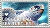 I love Loggerhead Sea Turtles