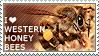 I love Western Honey Bees by WishmasterAlchemist