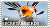 I love Secretarybirds by WishmasterAlchemist