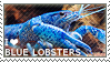 I love Blue Lobsters by WishmasterAlchemist