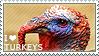 I love Turkeys