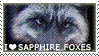 [C.35] I love Sapphire Foxes for Wolfgirl072 by WishmasterAlchemist