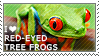 I love Red-eyed Tree Frogs by WishmasterAlchemist
