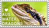 I love Australian Water Dragons by WishmasterAlchemist
