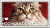 I love Highlander Cats by WishmasterAlchemist