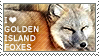 I love Golden Island Foxes by WishmasterAlchemist