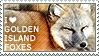I love Golden Island Foxes by WishmasterAlchemist