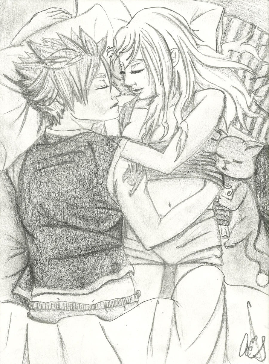 Cuddling Drawing