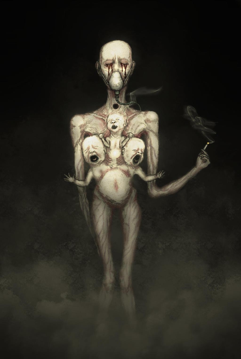 Slave of the Toxic Addiction by Pyramiddhead