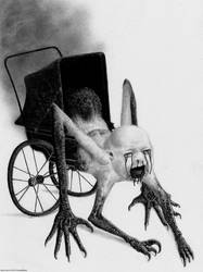 The Nightmare Carriage by Pyramiddhead