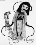 Chikako The Doll Girl of Kanagawa by Pyramiddhead