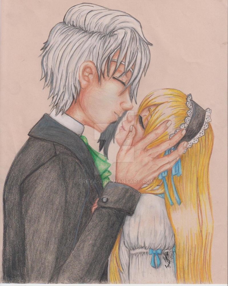 Kiss me by Freya-x