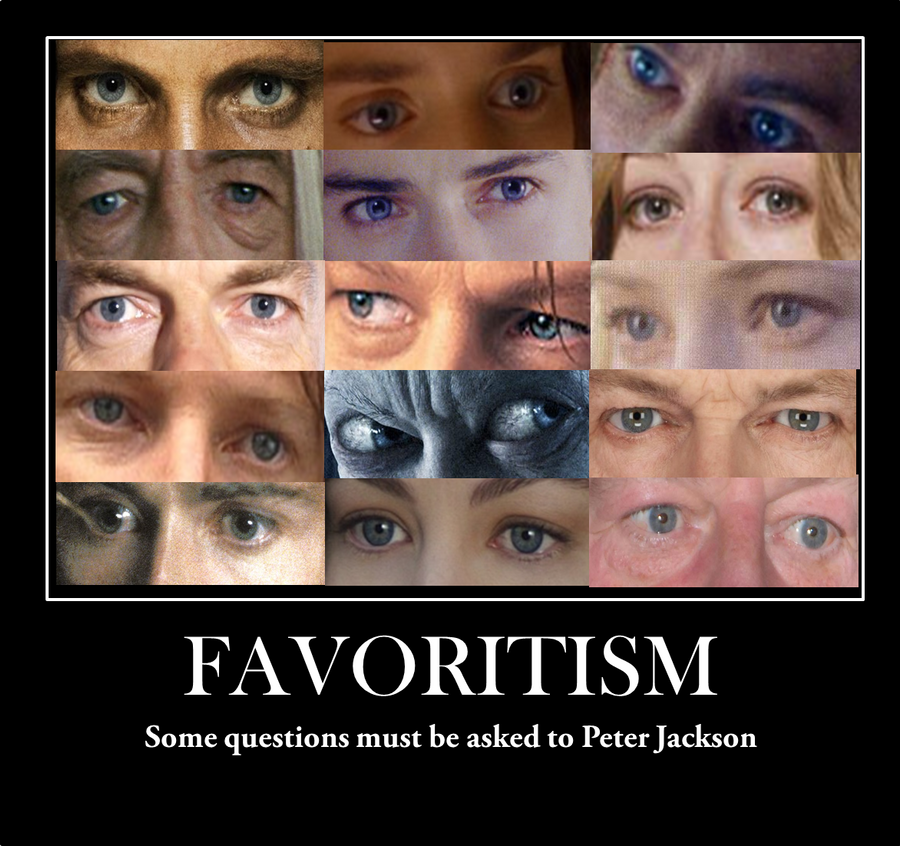 Favoritism for blue eyes by Noaaa7