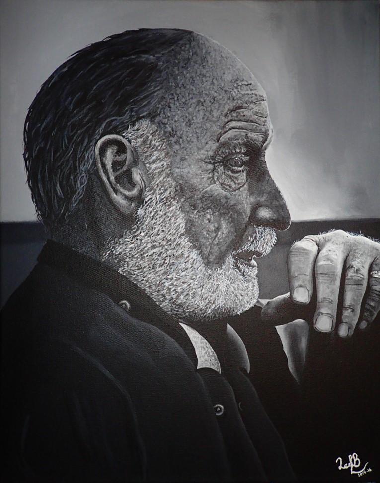 Old Man Portrait by Noaaa7