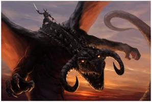 Dragon Rider by m-hugo