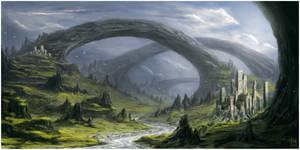 Bridges by m-hugo