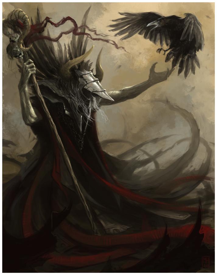Dark Mage by m-hugo