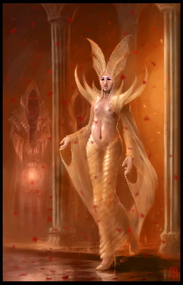High Priestess By M Hugo On Deviantart