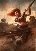 Barbarian Princess by m-hugo