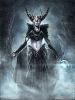 Jadis-The White Witch by m-hugo