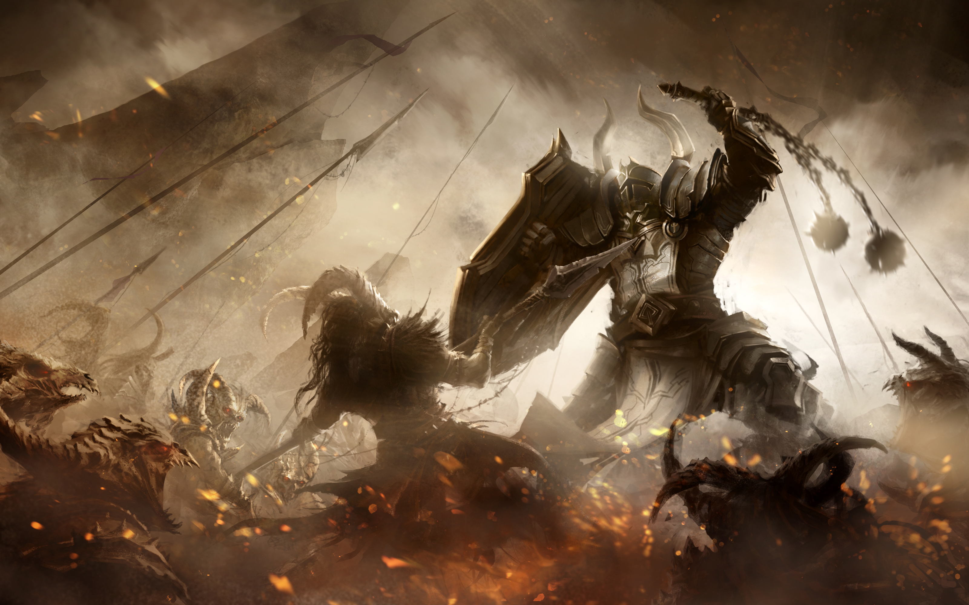 Diablo 3 Fanart - Crusader by m-hugo