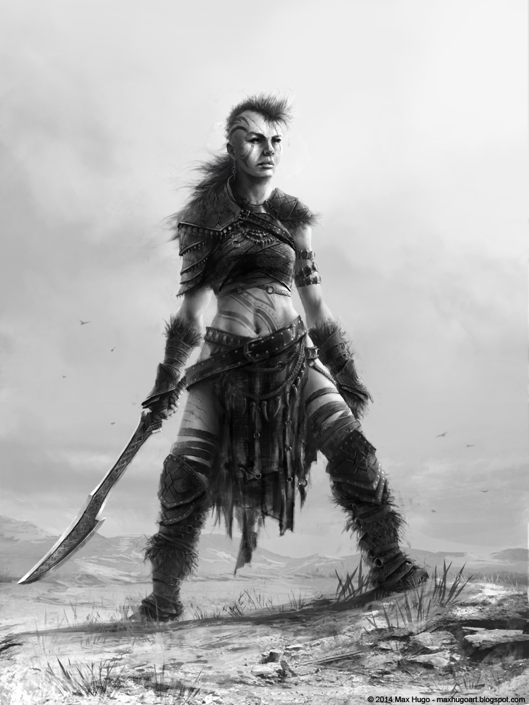 Barbarian Girl by m-hugo