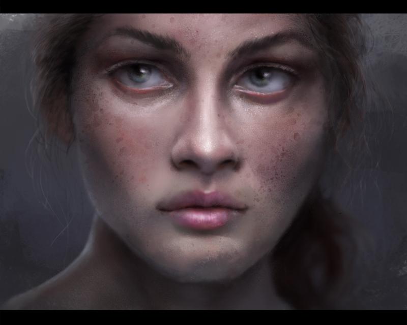 Portrait Thingy by m-hugo