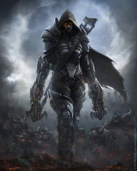 Scifi Demon Hunter