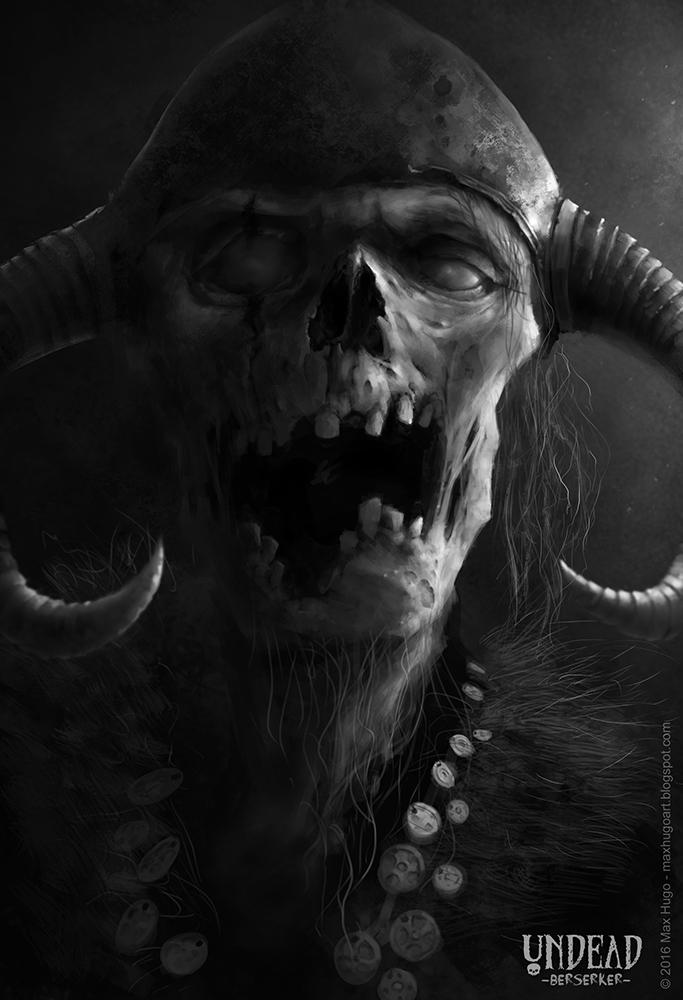 Undead Berserker by m-hugo