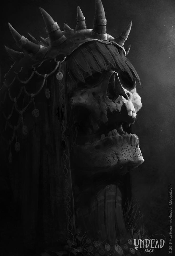 Undead Sage by m-hugo