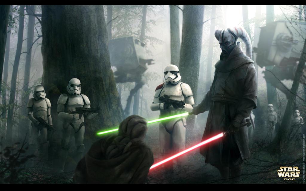 Lost Duel - Star Wars Fanart by m-hugo