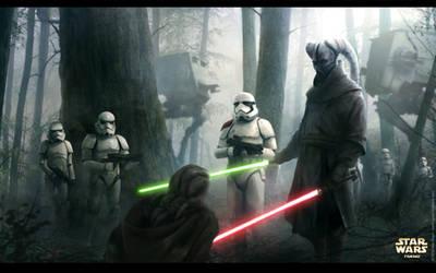 Lost Duel - Star Wars Fanart