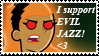 DP: Evil Jazz Stamp by DivineSpiritual