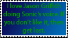Jason Griffith as Sonic stamp by DivineSpiritual