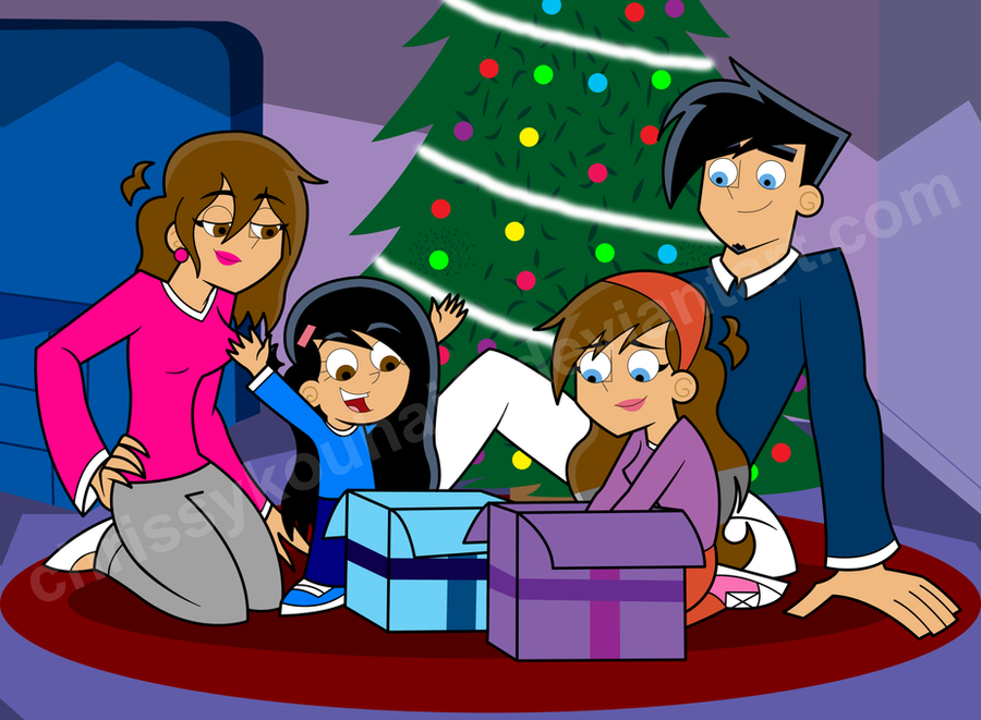DP: A Fenton Family Christmas by DivineSpiritual on DeviantArt