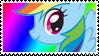 MLP: Rainbow Dash stamp by DivineSpiritual