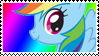MLP: Rainbow Dash stamp by DivineSpiritual
