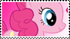 MLP: Pinkie Pie stamp by ColorSplashArts