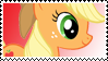MLP: Apple Jack stamp by DivineSpiritual