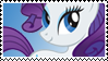 MLP: Rarity stamp by ColorSplashArts