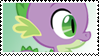 MLP: Spike stamp by DivineSpiritual